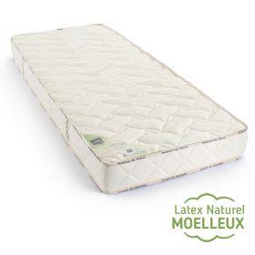 Matelas latex naturel Elégance moelleux 100x220