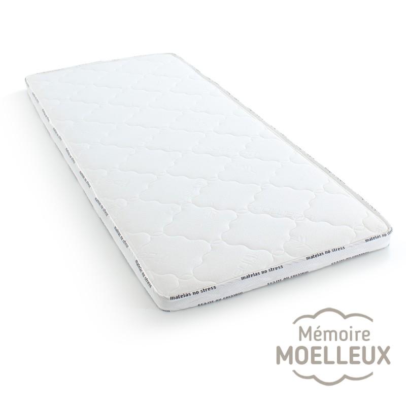 Surmatelas moelleux 90x200 à Mémoire Serene