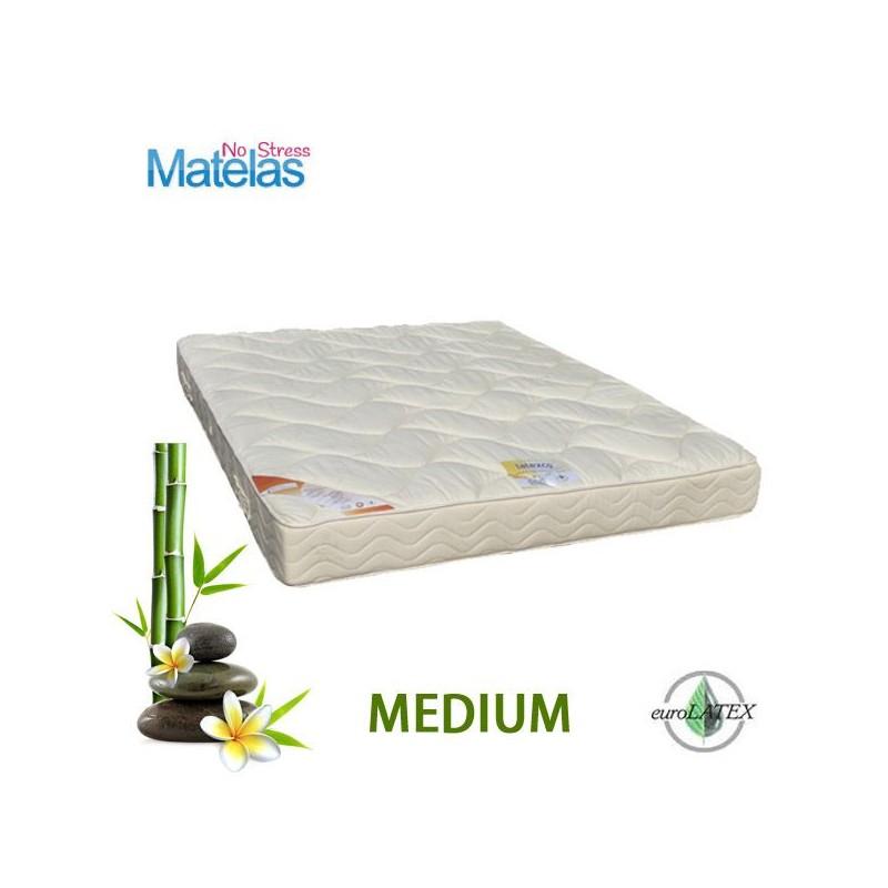 Matelas latex grand confort medium 21 cm en 140x180 matelas no stress - Matelas camping grand confort ...