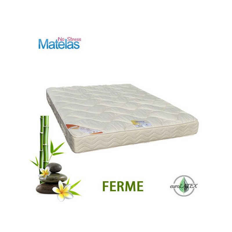 Matelas 140x180 Latex Grand Confort FERME 21 cm.