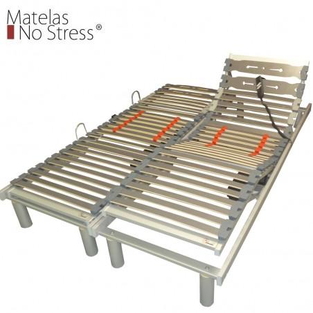Sommier Plat Electrique 80x190 Encastrable pour lit de 160x190
