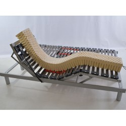 Sommier 80 80x200 de relaxation electrique pour literie 160x200 matelas no - Sommier electrique 80x200 ...