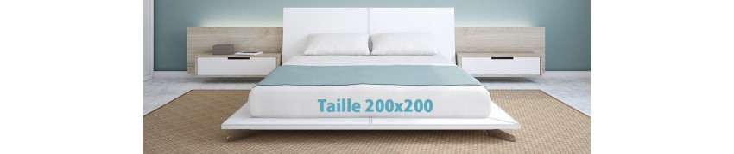 King Size 200x200 Matelas Sommier