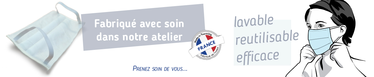 masque barrière fabriquer en France