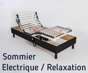 Vente de sommiers de qualit fabrication fran aise sommier no stress - Sommier relaxation manuel ...