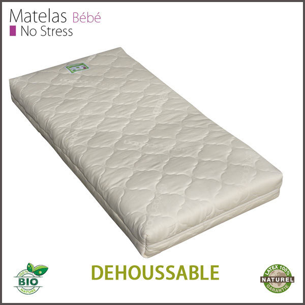 matelas b b en latex naturel couffin matelas. Black Bedroom Furniture Sets. Home Design Ideas