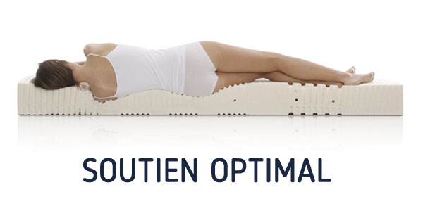 LE SOUTIEN DU MATELAS LATEX GRAND CONFORT MEDIUM