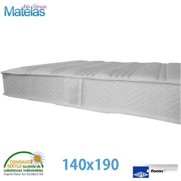 matelas h tel prix direct fabricant matelas no stress. Black Bedroom Furniture Sets. Home Design Ideas