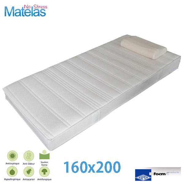 matelas pas cher 160x200 prix matelas latex sommier. Black Bedroom Furniture Sets. Home Design Ideas
