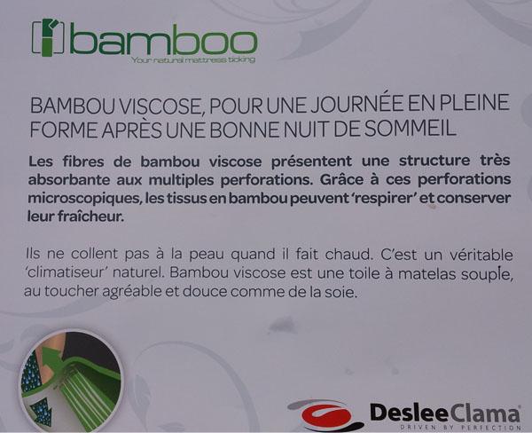 matelas bambou pourquoi le bamboo