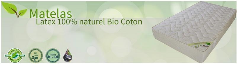 Matelas h tel prix direct fabricant matelas no stress - Matelas latex 100 naturel bio ...